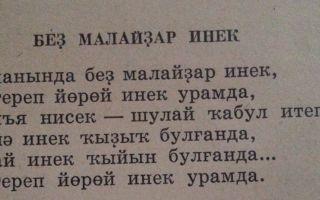 «Без малайлар идек» Ангам Атнабаев